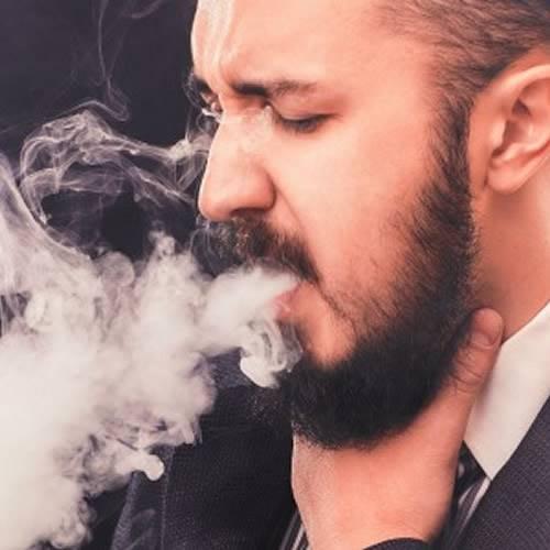 elektronik sigara kullanırken neden öksürürüz, likit boğazımı yakıyor