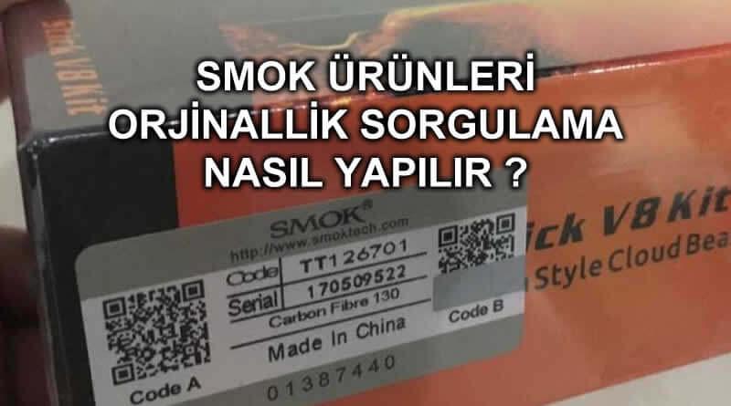 smok e sigara sorgulama, smok coil sorgulama, smok orjinallik sorgulama, smok karekod sorgulama, smok atomizer sorgulama