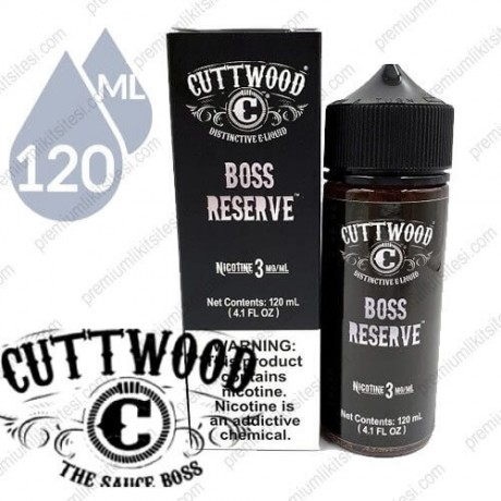 Cuttwood Boss Reserve 120ml
