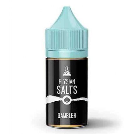 Elysian Gambler Salt Likit, Premium Salt Likit
